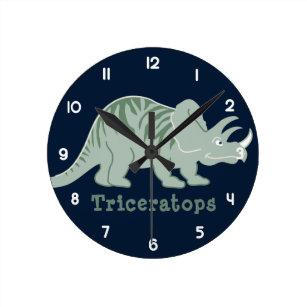 Reloj Redondo Mediano Triceratros