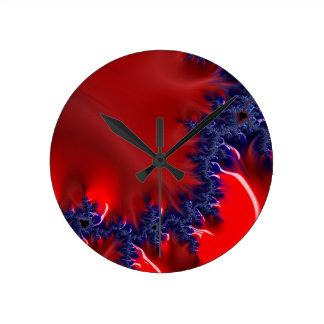 Reloj Redondo Mediano Un río en Marte