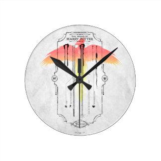 Reloj Redondo Mediano Vara Infographic del encanto el | Harry de Harry