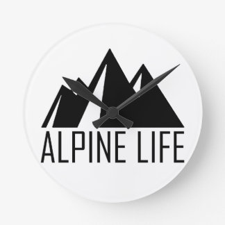 Reloj Redondo Mediano Vida alpina