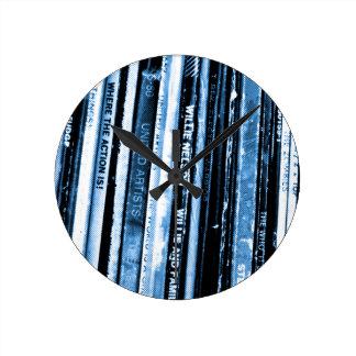 Reloj Redondo Mediano Vida del vinilo