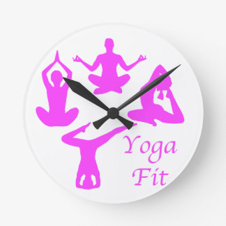 Reloj Redondo Mediano Yoga YogaFit