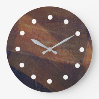 Reloj rico del arte de Digitaces de la capa