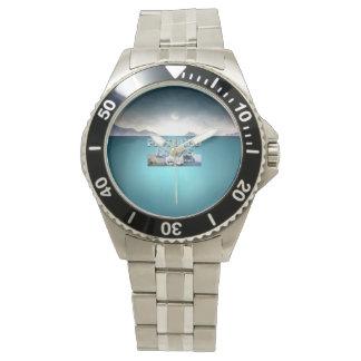 Reloj Rocas representadas ABH