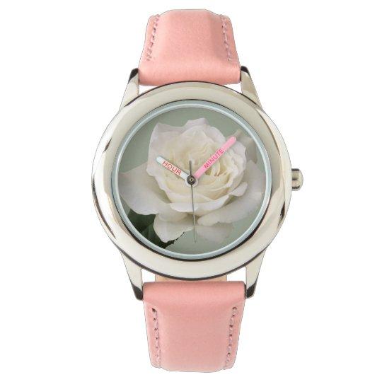 Reloj Rosa blanco