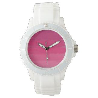Reloj rosado de Ombre del lápiz labial