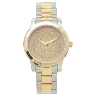 Reloj Rosas del oro de herradura