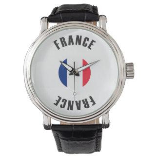Reloj Rueda de la bandera de Francia