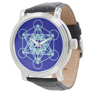Reloj sagrado de la geometría de Metatron del