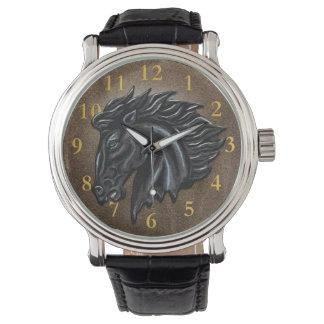 Reloj Semental negro