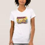 Reloj sensacional de Garfield, la camisa de las mu