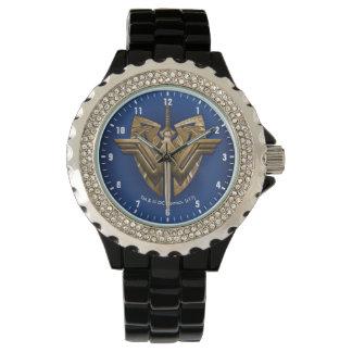 Reloj Símbolo de la Mujer Maravilla con la espada de la