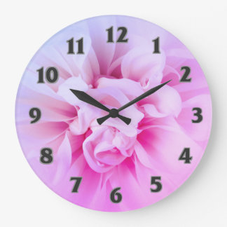 Reloj soñador rosado elegante de Dhalia del país