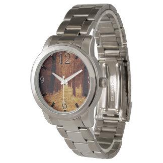 Reloj Trayectoria de bosque…