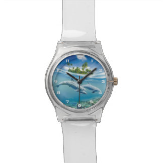 Reloj tropical de la fantasía May28th de la isla