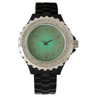 Reloj tropical de la flor del trullo