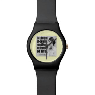 Reloj unisex de la cita fantasmal del rollo de Vir