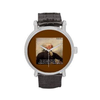 Reloj unisex de la paz/de la amistad de Thomas Jef