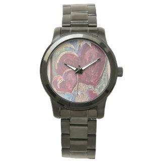 Reloj unisex del tiempo de los corazones