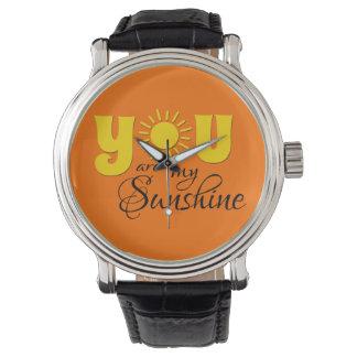 Reloj Usted es mi sol