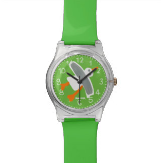 Reloj verde del arte: Gaviota de Cornualles el