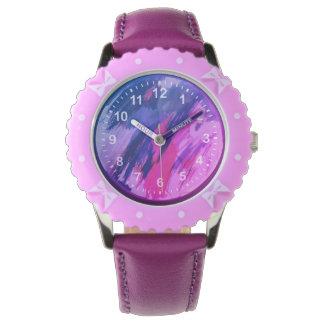 Reloj Vida rosada