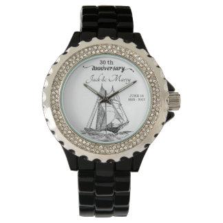 Reloj Z07-W de los pares del aniversario