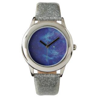 Relojes azules de la nebulosa del zafiro