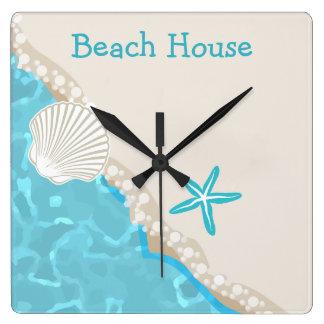 Relojes de la cocina de la playa