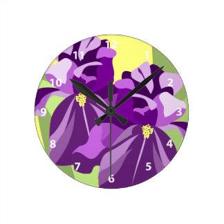Relojes de la flor del iris barbudo