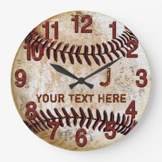 Relojes de pared personalizados rústicos del