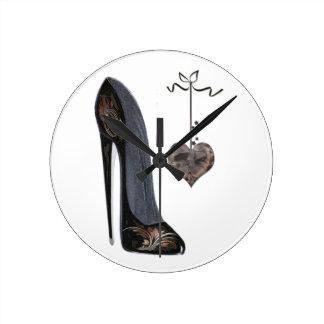 Relojes del arte del zapato del estilete