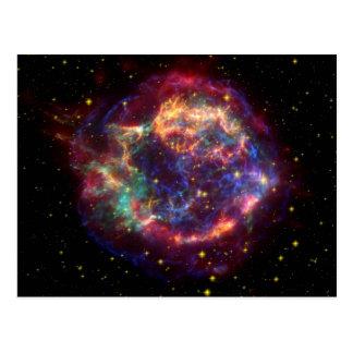 Remanente de la supernova de la galaxia del postal