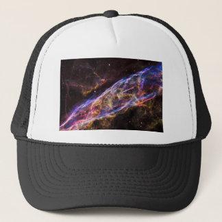 Remanente de la supernova de la nebulosa del velo gorra de camionero