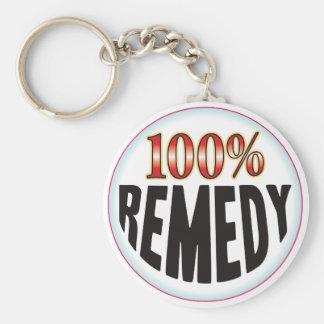 Remedy Tag Key Chain