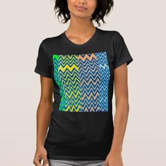 remiendo de la diversión del vintage colorido del  camisetas