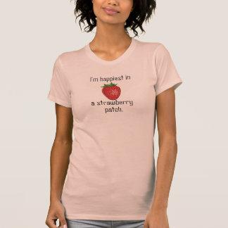 Remiendo de la fresa - camiseta