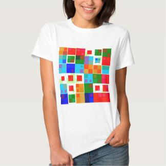 Remiendo del color camisas