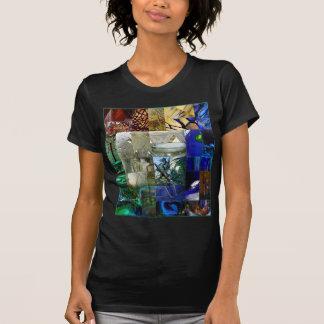 Remiendo del vidrio camisetas