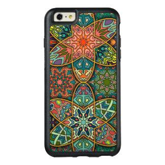 Remiendo del vintage con los elementos florales de funda otterbox para iPhone 6/6s plus