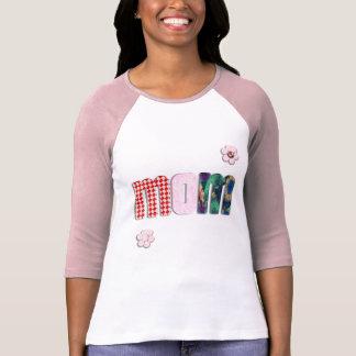"""Remiendo """"MAMÁ"""" en espacio en blanco (añada Camiseta"""
