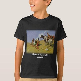 Remington - humo camiseta