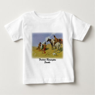 Remington - humo camiseta de bebé