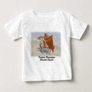 Remington - señal combinada camiseta para bebé