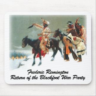 Remington - vuelta del fiesta Blackfoot de la Alfombrilla De Ratón