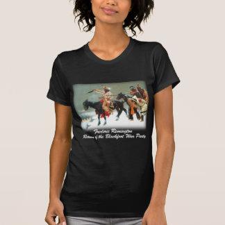 Remington - vuelta del fiesta Blackfoot de la Camisas