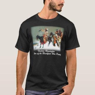 Remington - vuelta del fiesta Blackfoot de la Camiseta