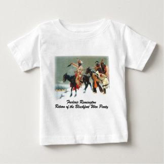 Remington - vuelta del fiesta Blackfoot de la Camiseta Para Bebé