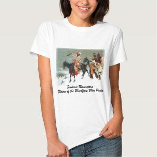 Remington - vuelta del fiesta Blackfoot de la Camisetas