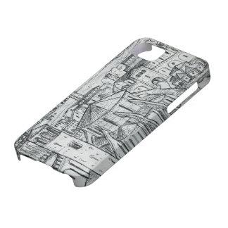 Reminiscencia del EL Lissitzky- de Ravena iPhone 5 Carcasas